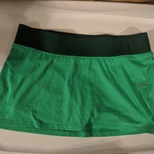 Nike Dri Fit Green Tennis Skirt - size Medium